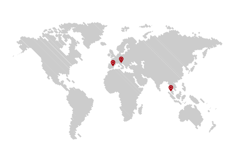Assixto Franchising World Map